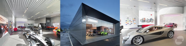 McLaren showroom, Hamilton