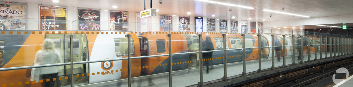 Glasgow Subway underground, Buchanan Street