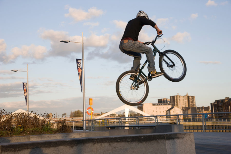 BMX rider, Broomielaw | by McAteer Photograph