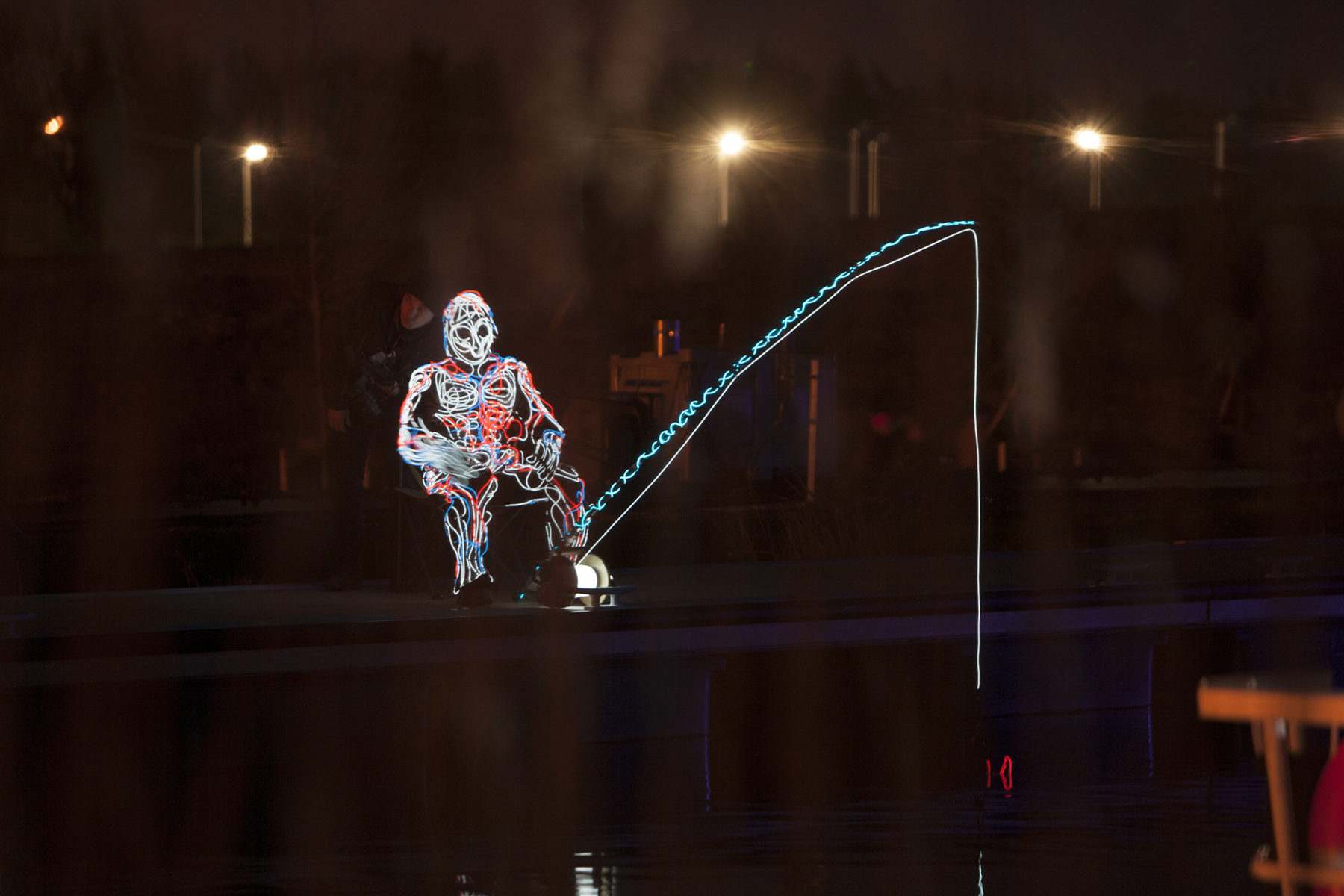 A light show performance, fishing | by McAteer Photograph