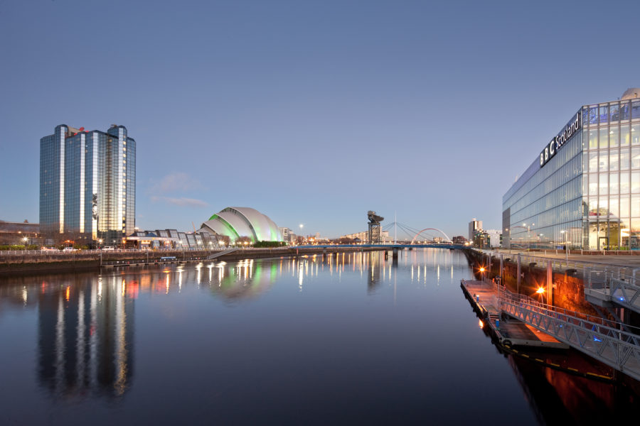 BBC Scotland, Pacific Quay | image by McAteer Photograph