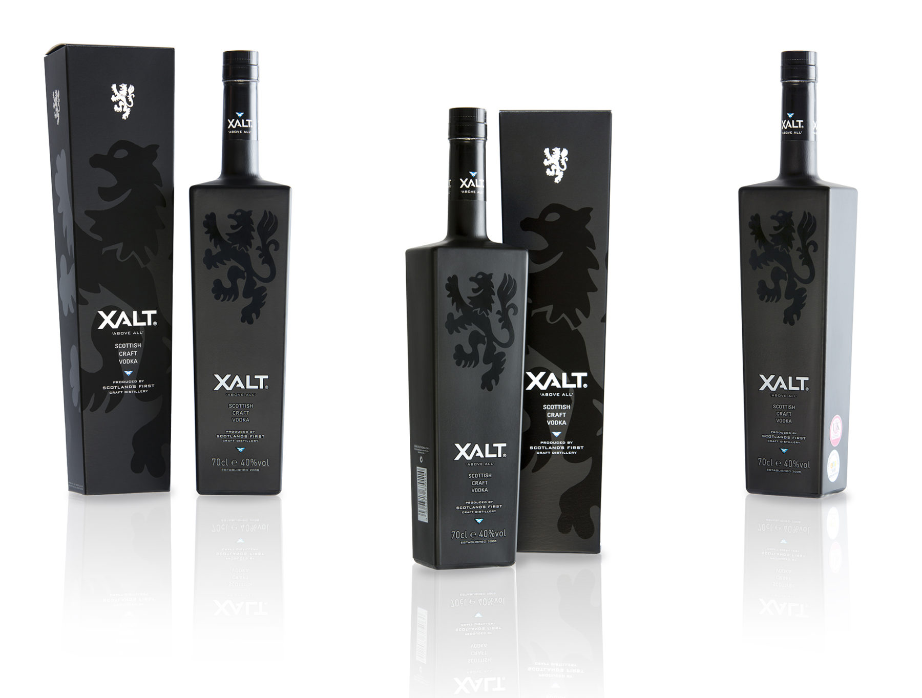 Xalt vodka | image by McAteer Photograph
