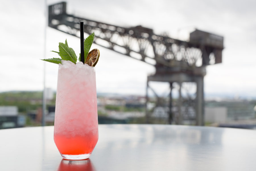 Cocktail and the Finniston crane | by McAteer Photograph