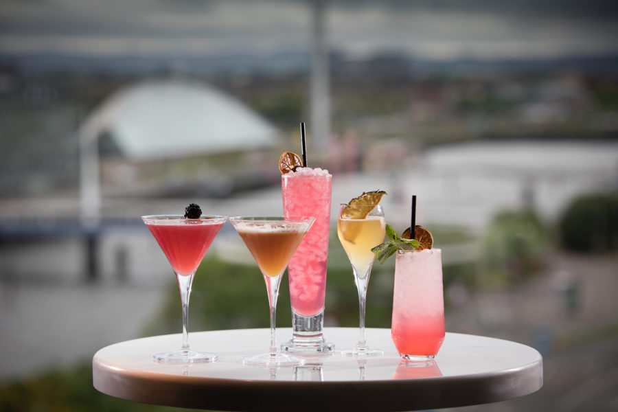 Cocktails with a view of the Clyde | by McAteer Photograph