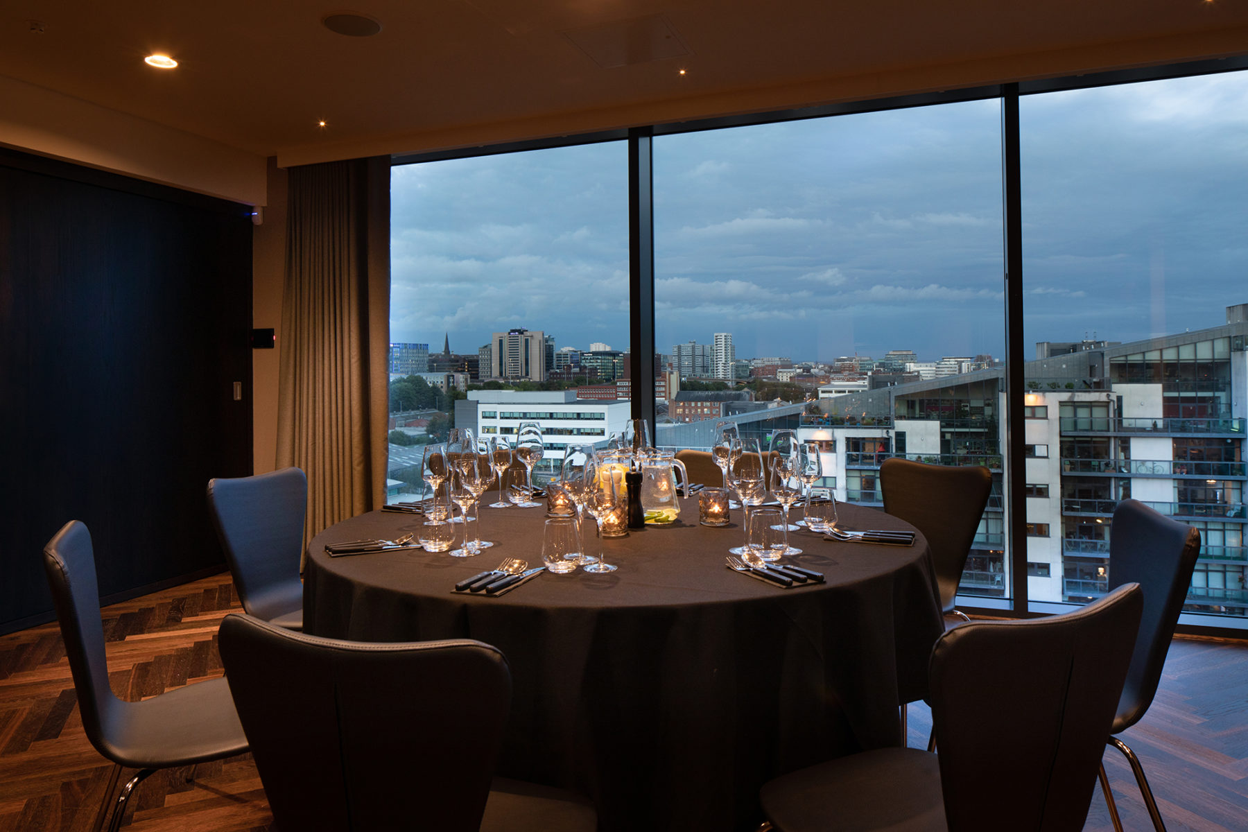 Studio 9, private dining room, Radisson Red | by McAteer Photograph