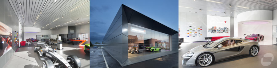 McLaren showroom, Hamilton | by McAteer Photograph