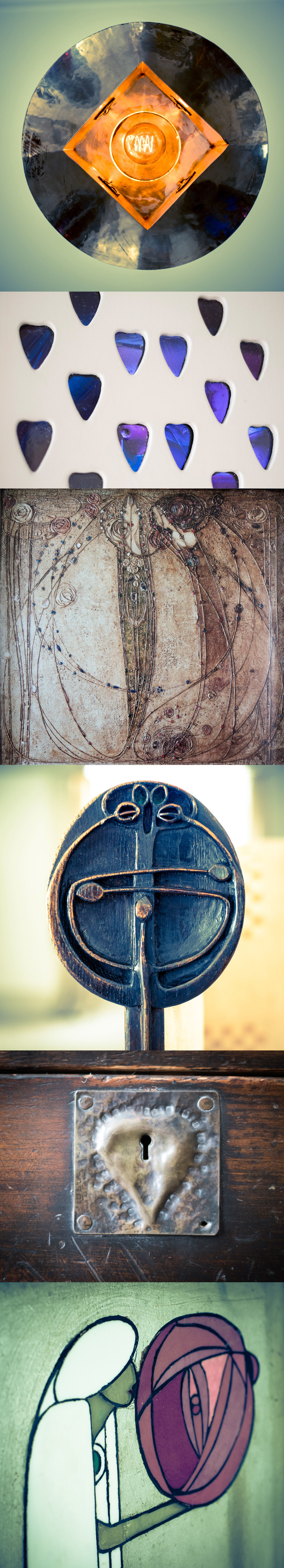 Details of Charles Rennie Mackintosh by McAteer Photograph for GCMB