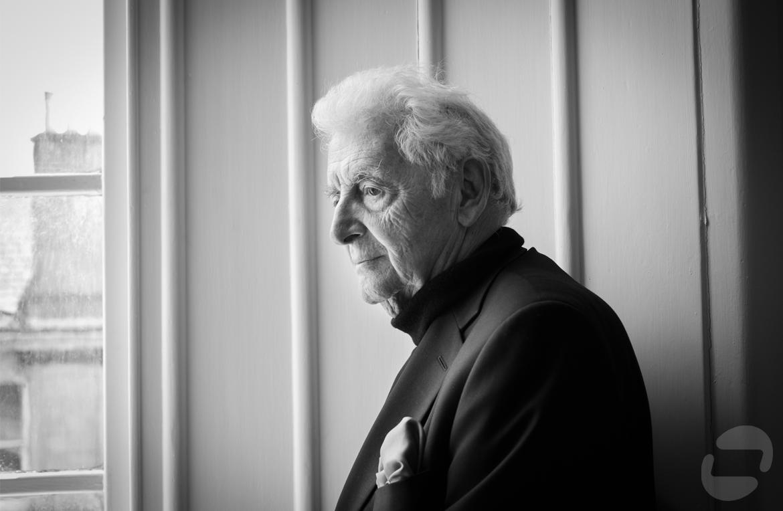 Harry Benson portrait by Alan McAteer