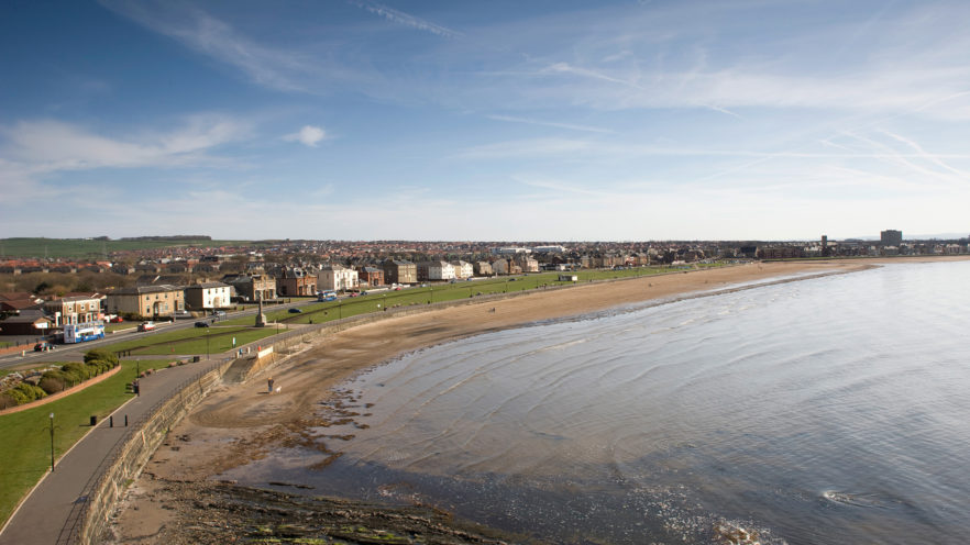 Ardrossan shore line, Irvine Bay Regeneration Company by McAteer Photo