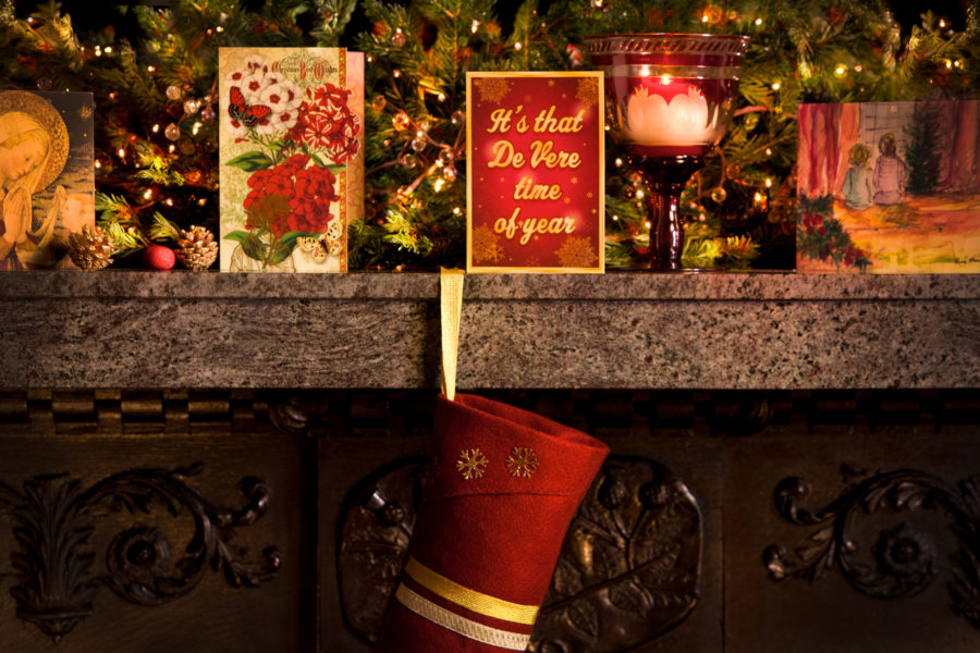 Decorated mantle piece, De Vere time of the year | by McAteer Photograph
