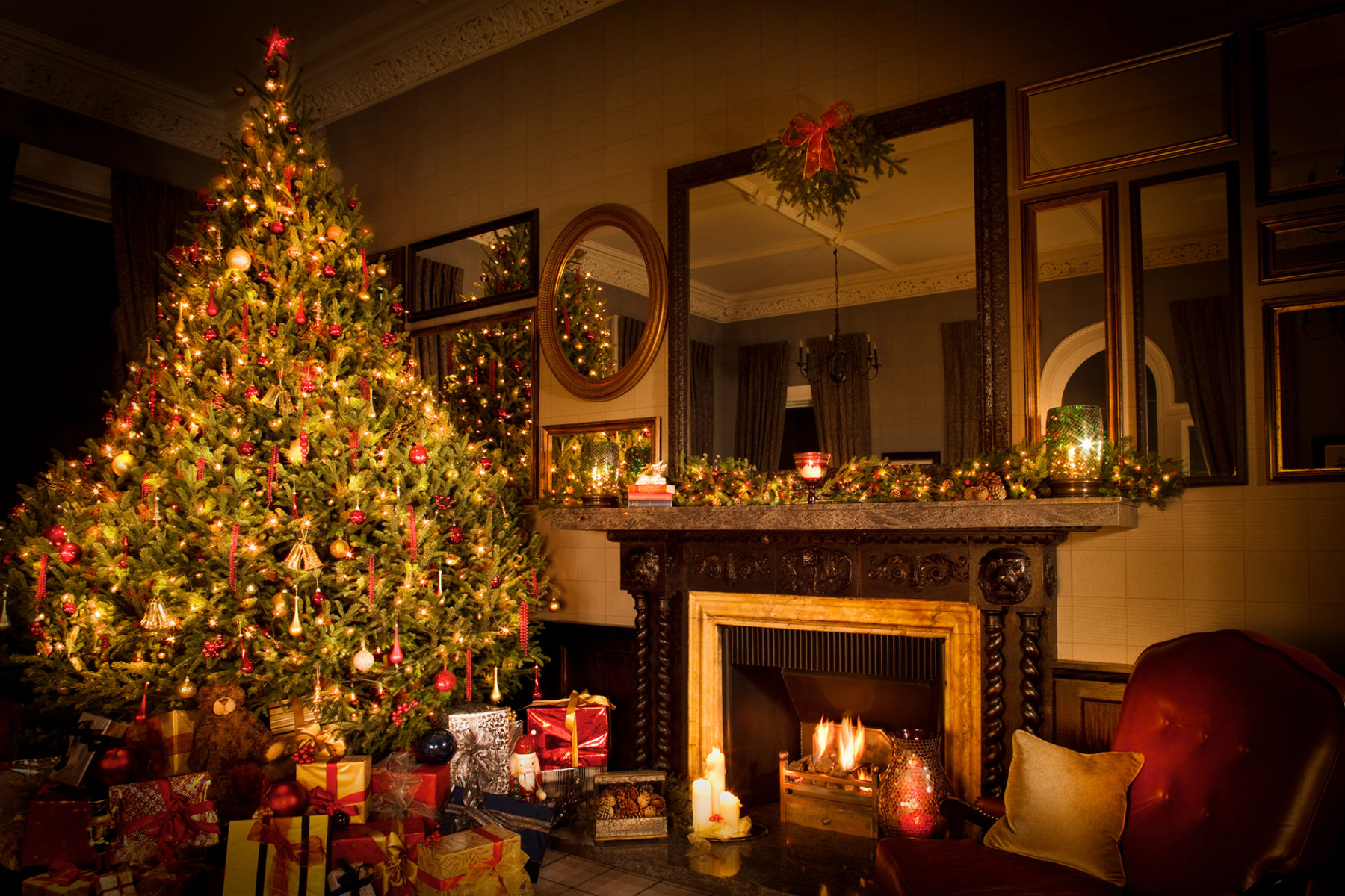 Cheerful christmas scene at Cameron House, De Vere time of the year | by McAteer Photograph