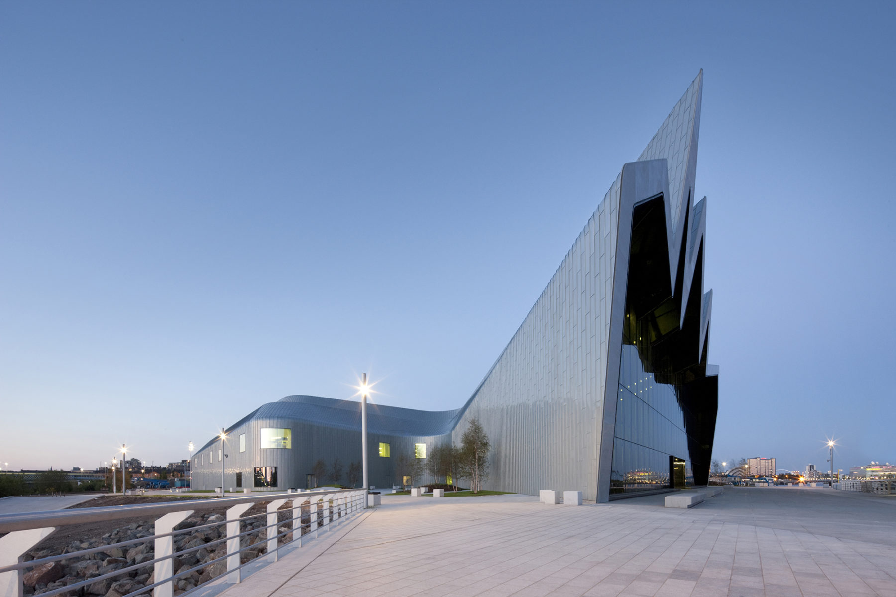 West facade | Riverside Museum | by McAteer Photograph