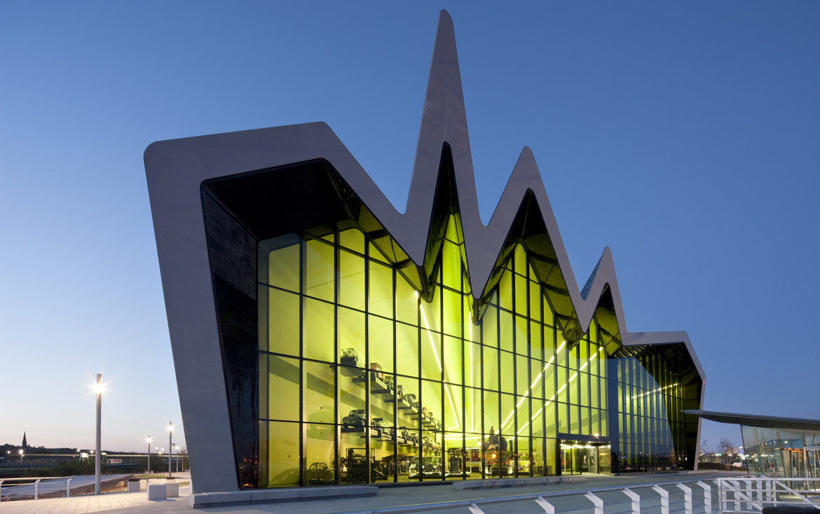 Riverside Museum, Glasgow Harbour