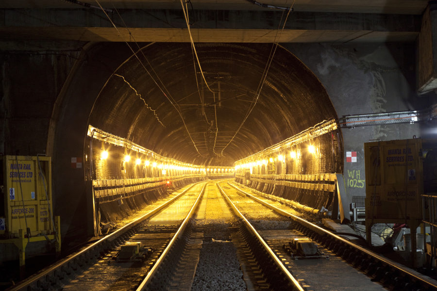 Repairing a railway tunnel | by McAteer Photograph
