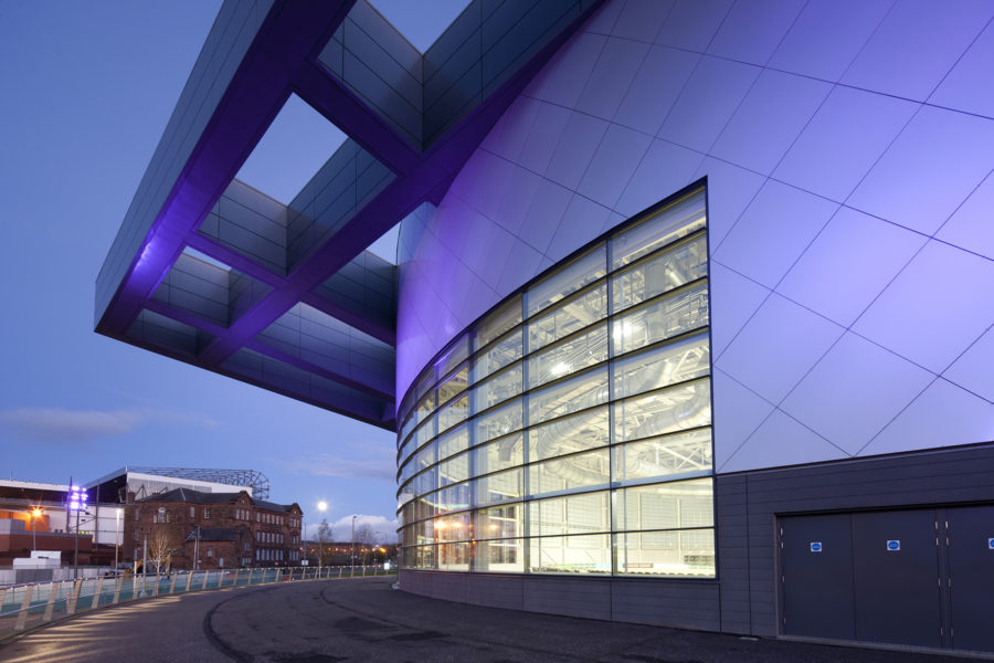West side, Emirates Arena, exterior | by McAteer Photograph