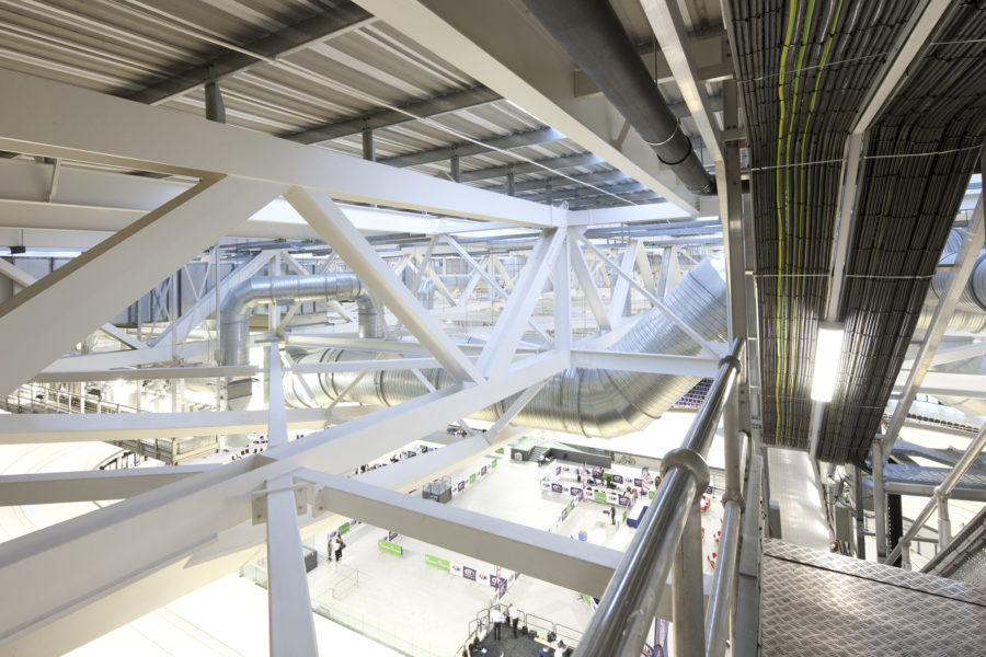 Roof structural steel work, Emirates Arena | by McAteer Photograph