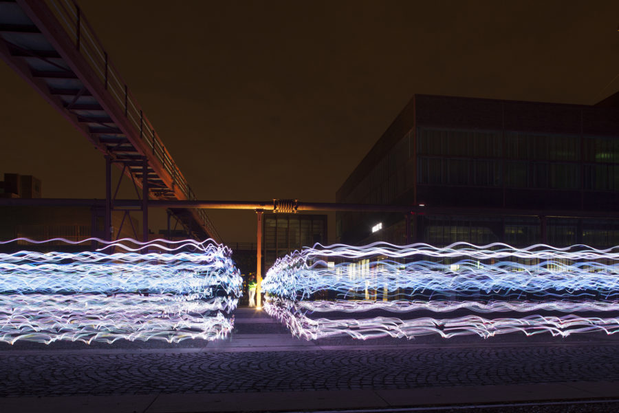 Industrial site, Rhur Germany: location for NVA's Speed of Light | by McAteer Photograph