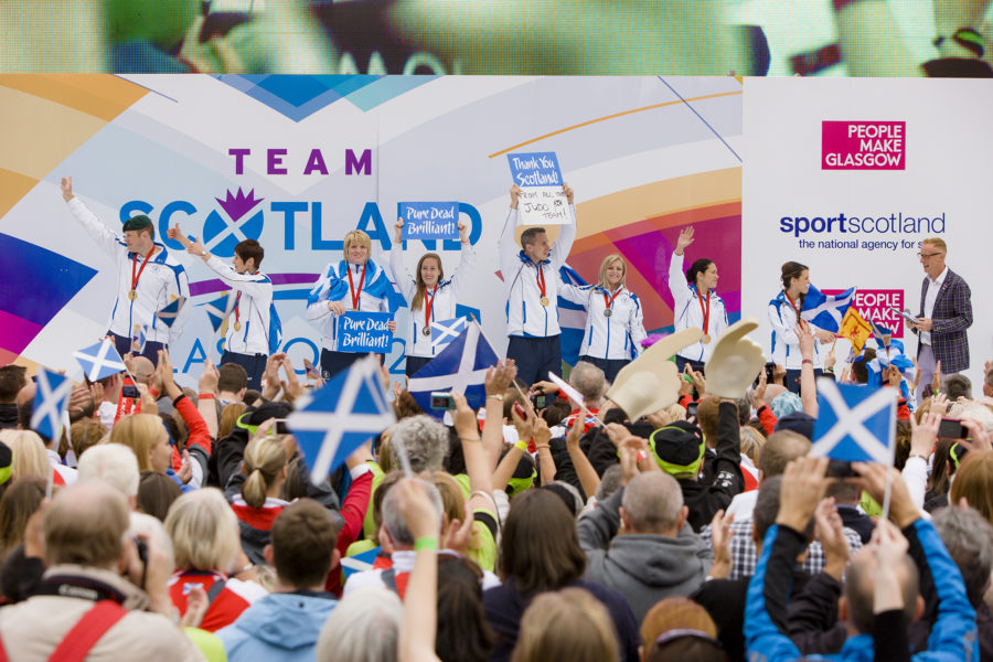 The Commonwealth Games festival, Glasgow 2014, Athletes Parade | by McAteer Photograph