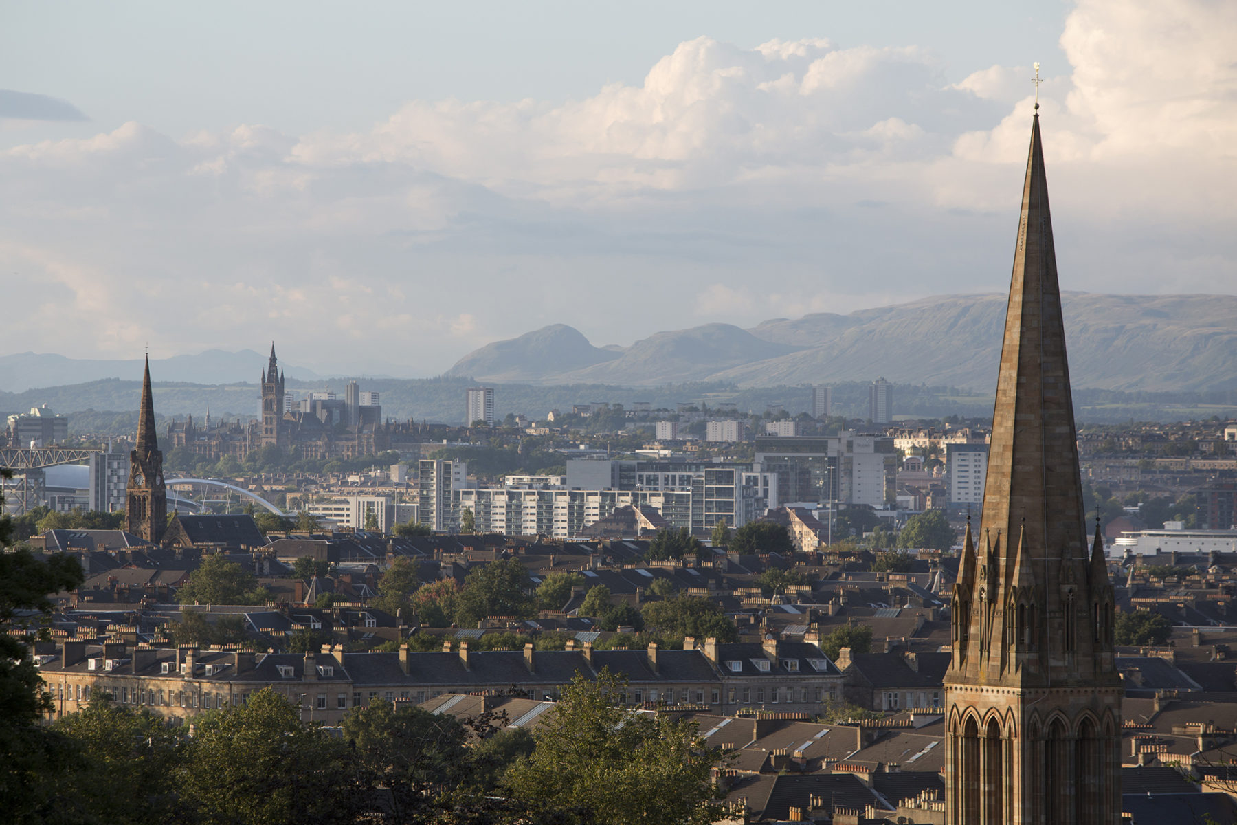 Glasgow city scape | image by McAteer Photograph