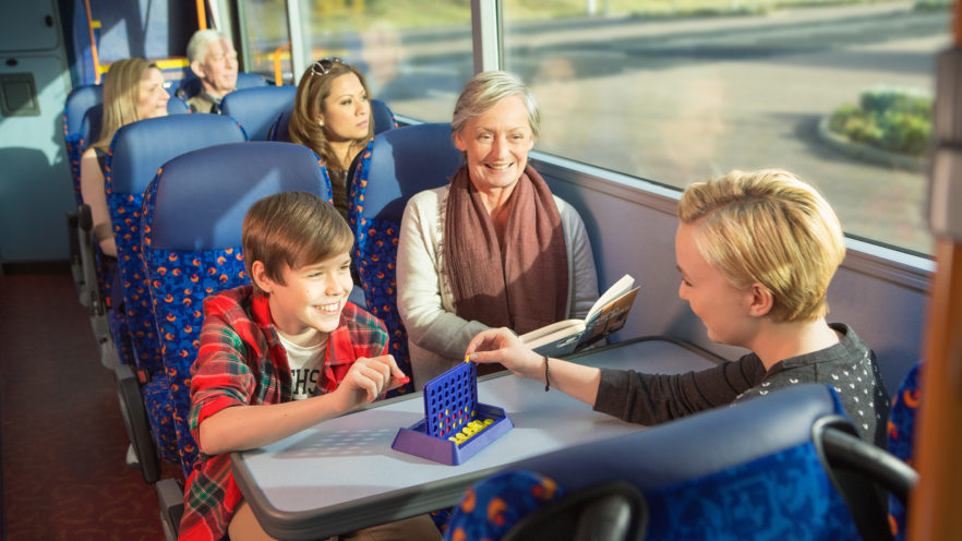 Family on coach, Stagecoach, Megabus | by McAteer Photograph