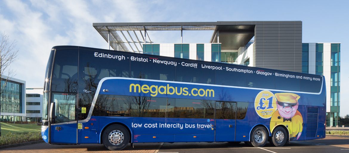 Megabus coach parked | by McAteer Photograph