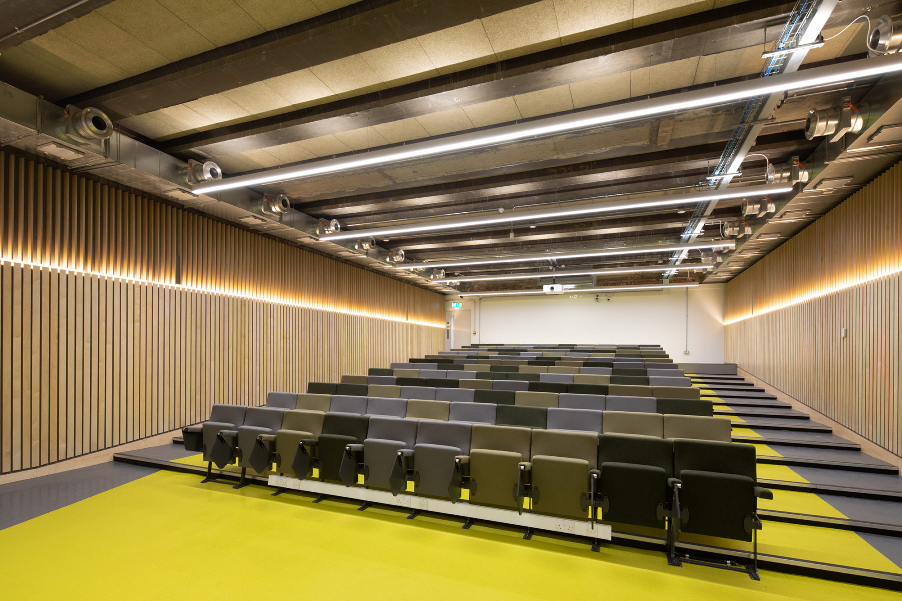 Lecture hall, Edinburgh University | By McAteer Photo