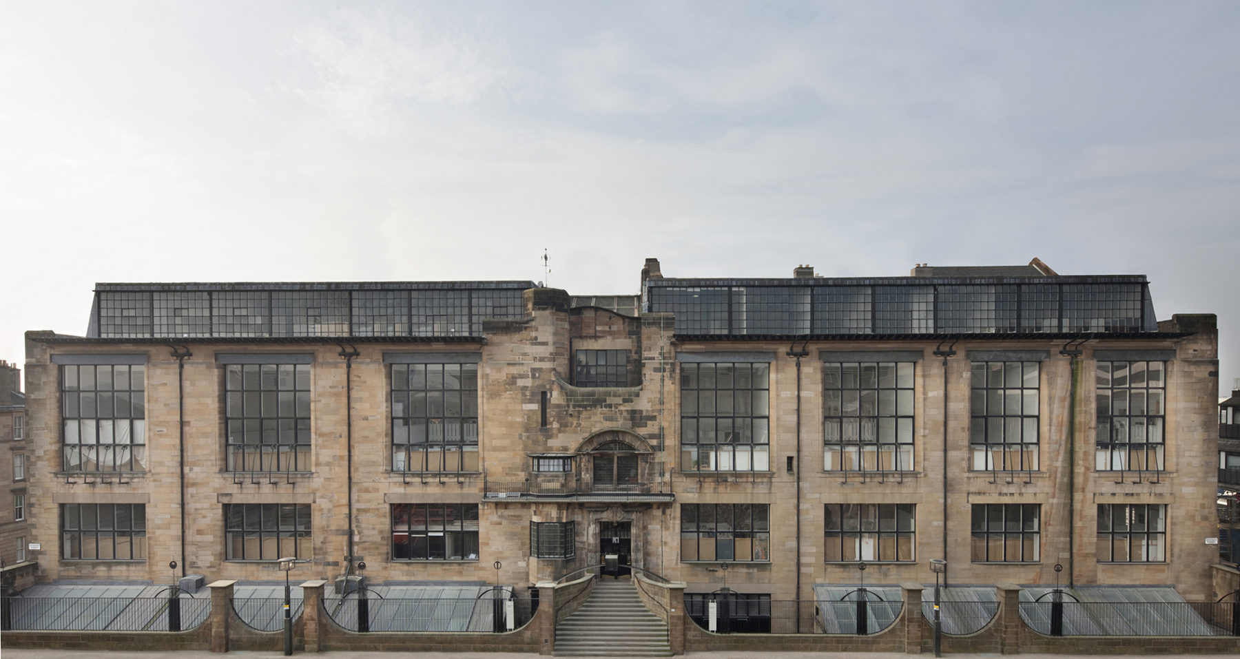 Macintosh Building, Glasgow School of Art | GSA | Before the fire | by McAteer Photograph