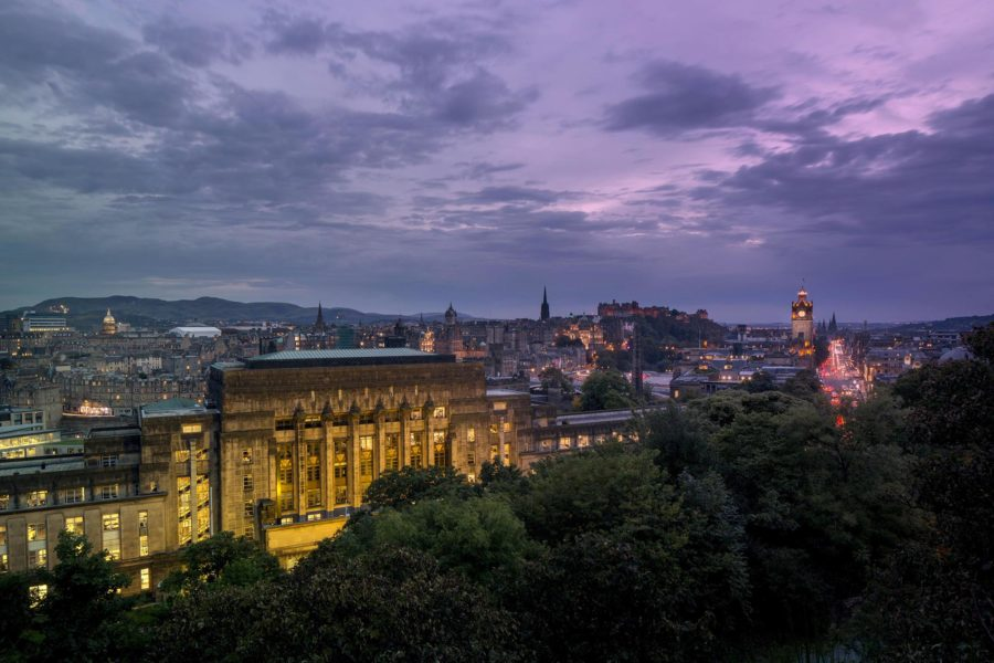 Views of Edinburgh at dusk | by McAteer Photograph