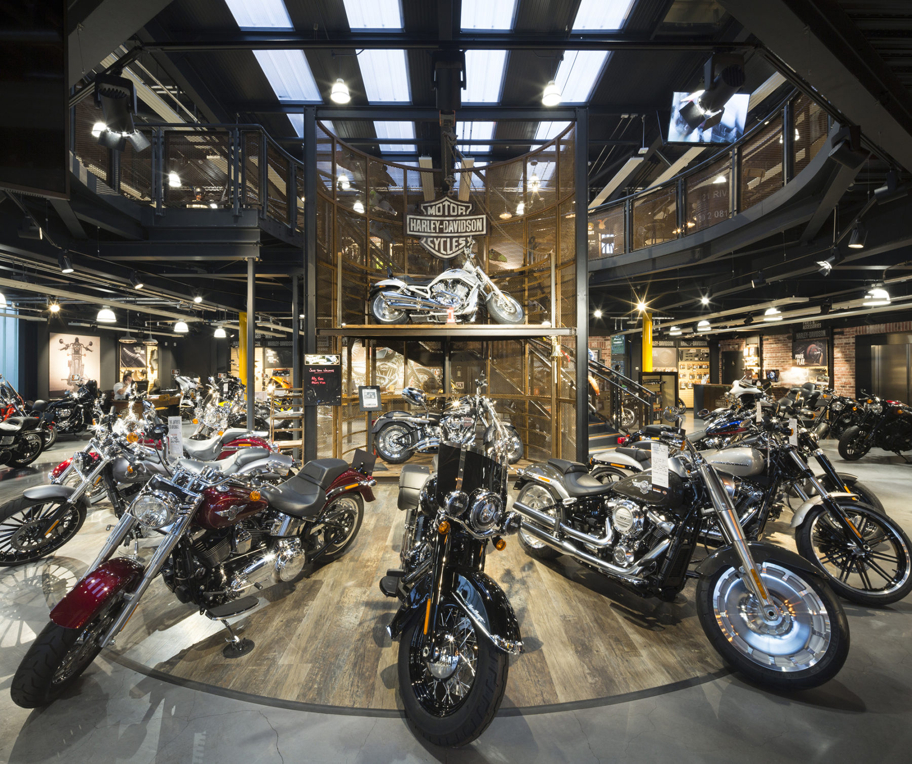 Hillingdon Harley Davidson store | by McAteer Photograph
