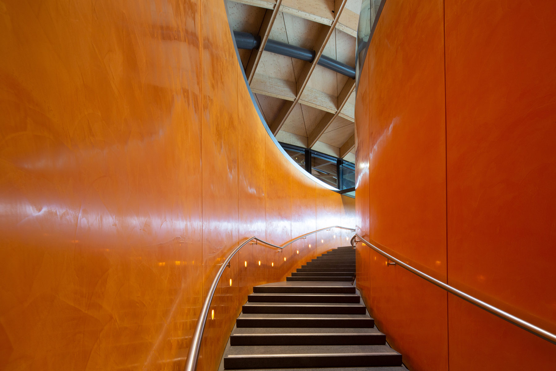 Stairway, the Macallan distillery | by McAteer Photograph