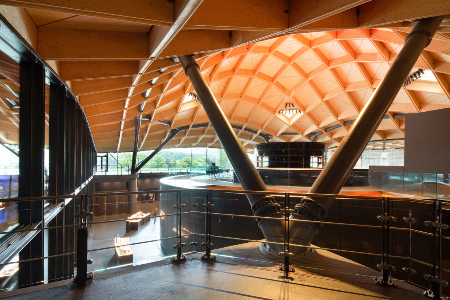 Upper bar area, the Macallan distillery | by McAteer Photograph