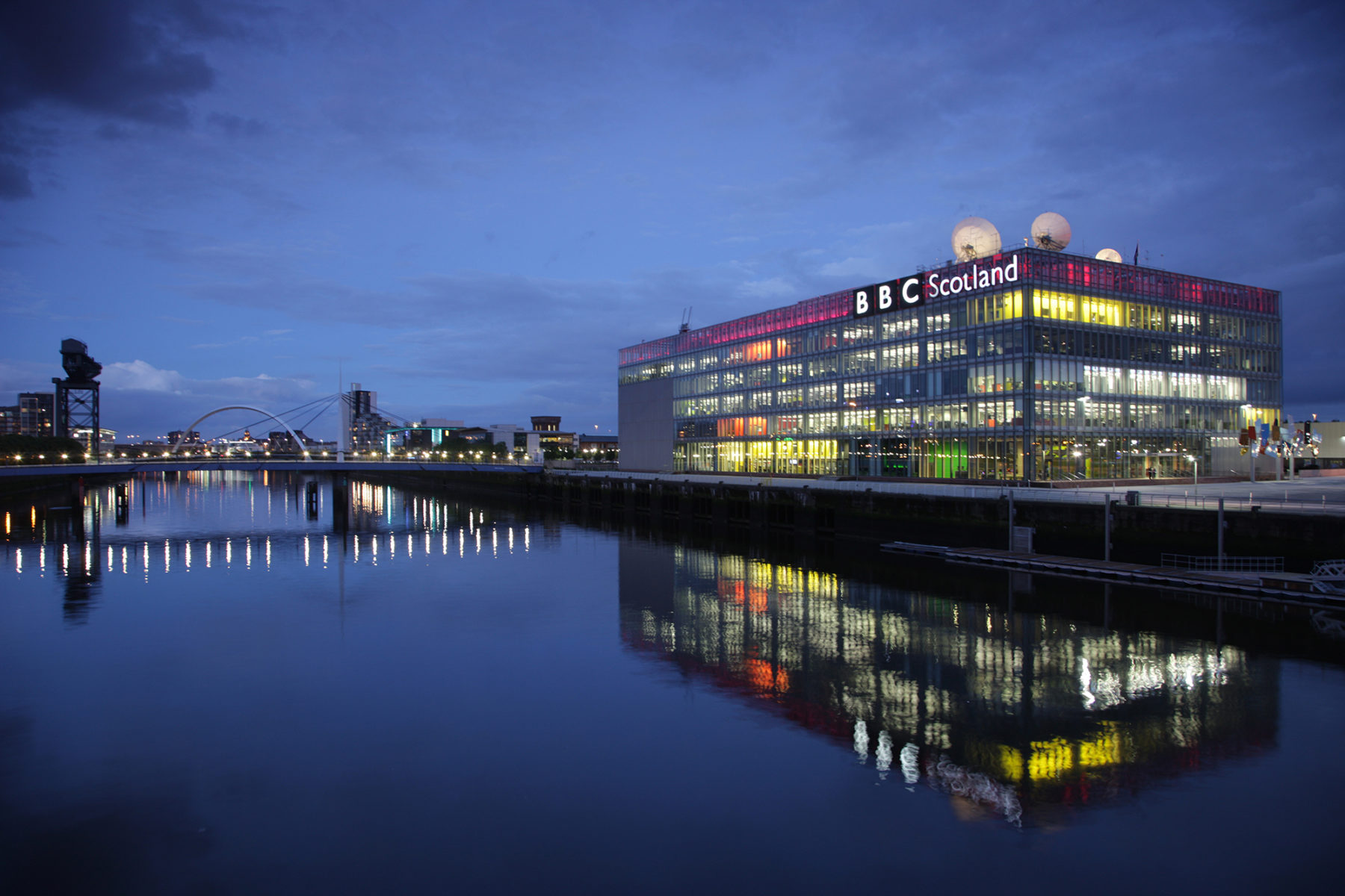 BBC Scotland, Pacific Quay | by McAteer Photograph
