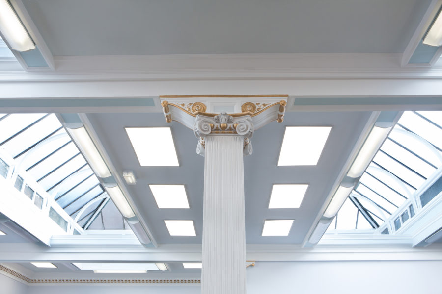 Woodside Library ceiling | by McAteer Photograph