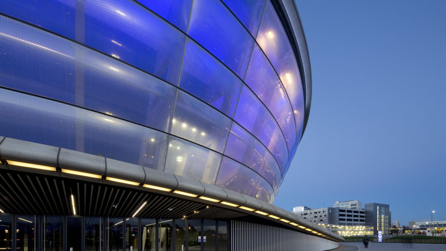 SSE Hydro illuminated | by McAteer Photograph
