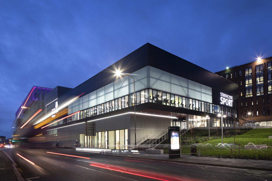 Sport complex, Strathclyde University | by McAteer Photo