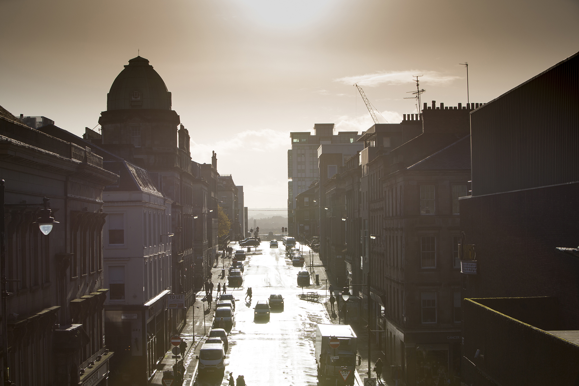 Looking south on Douglas Street | By McAteer Photograph