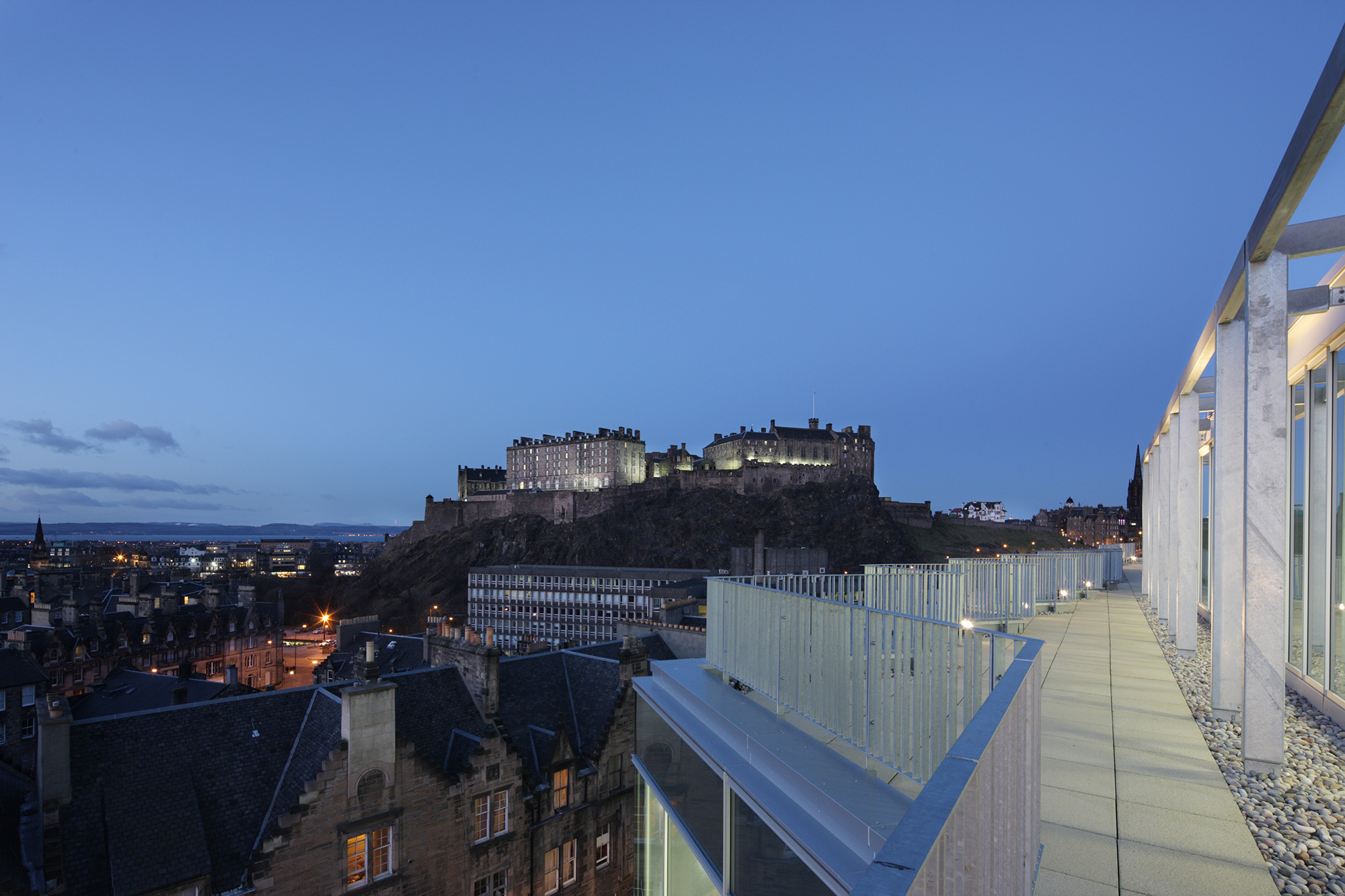 A view of Edinburgh castle | By McAteer Photo