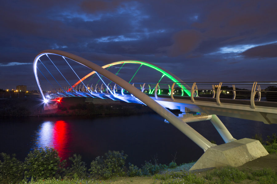 Clyde Gateway Smart Bridge | Dalmarnock | River Clyde | By McAteer Photo