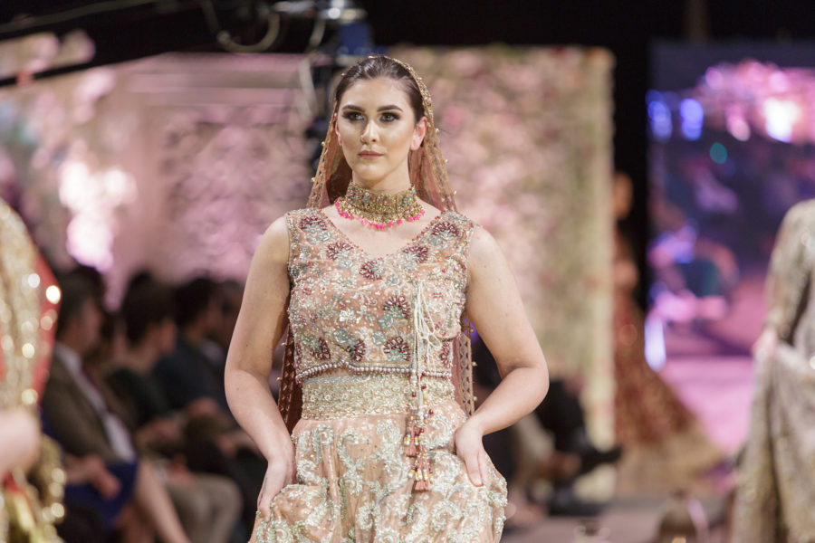 Ladies fashion on the catwalk, Pakistan Fashion Week | By McAteer Photo