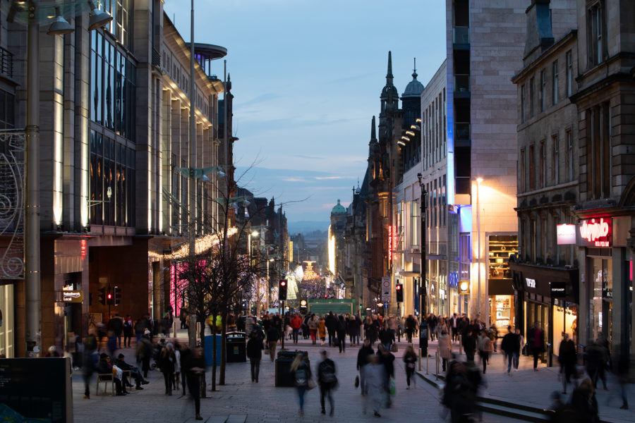 Buchanan Street in December | By McAteer Photo