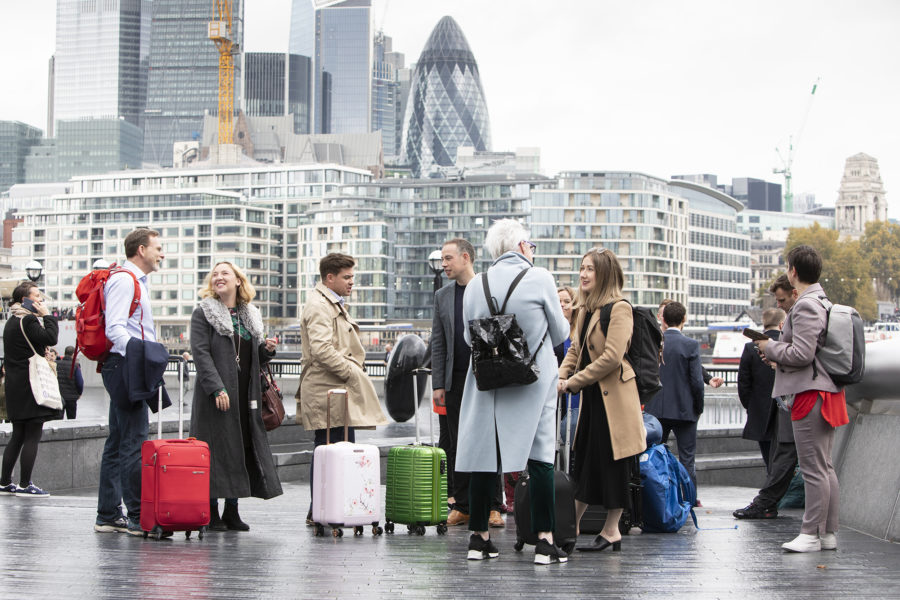 The entrepreneurs arrive in London, Unlocking Ambition | by McAteer Photo