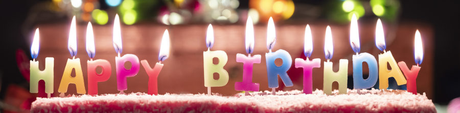Happy Birthday candles | By McAteer Photo