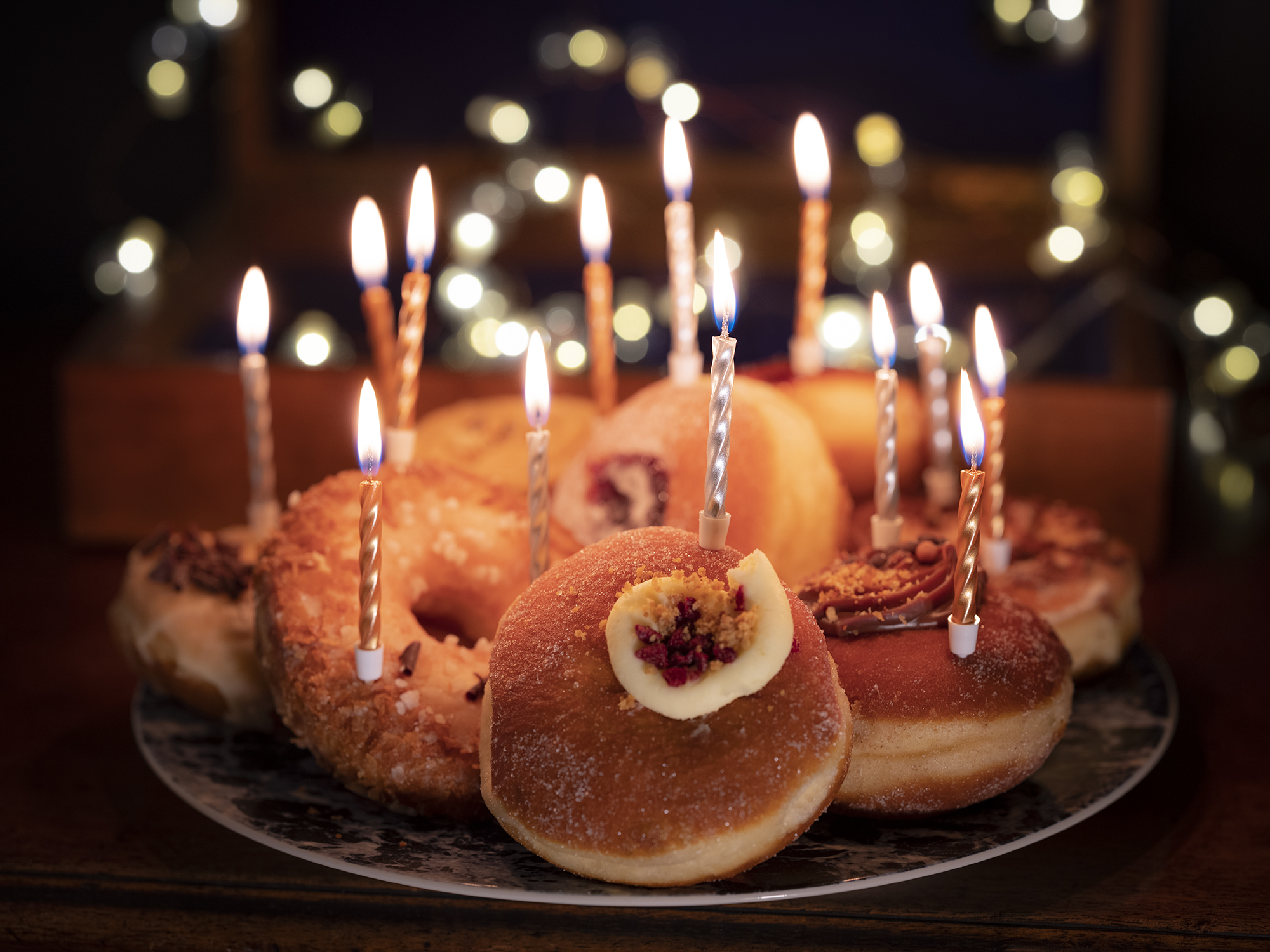 Birthday doughnuts | By McAteer Photo