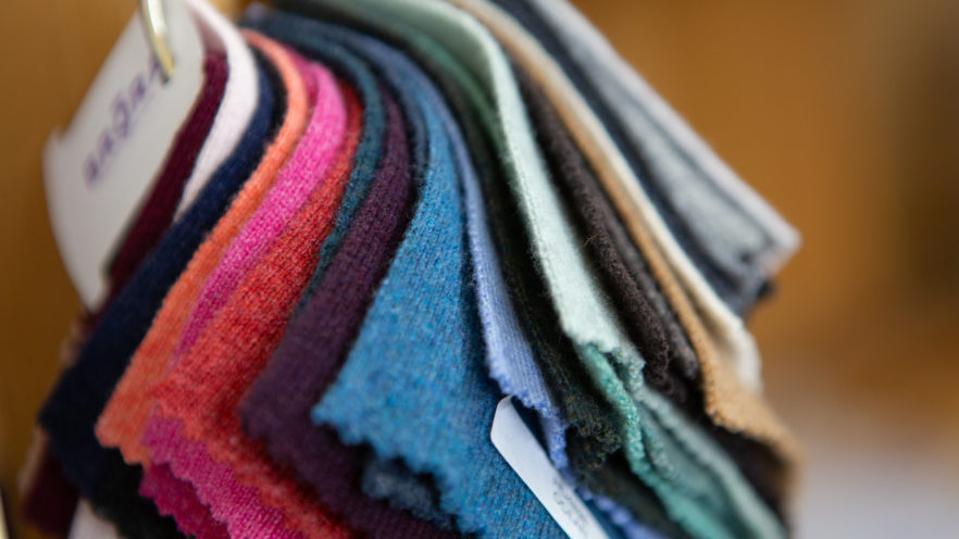 Cashmere samples | By McAteer Photo