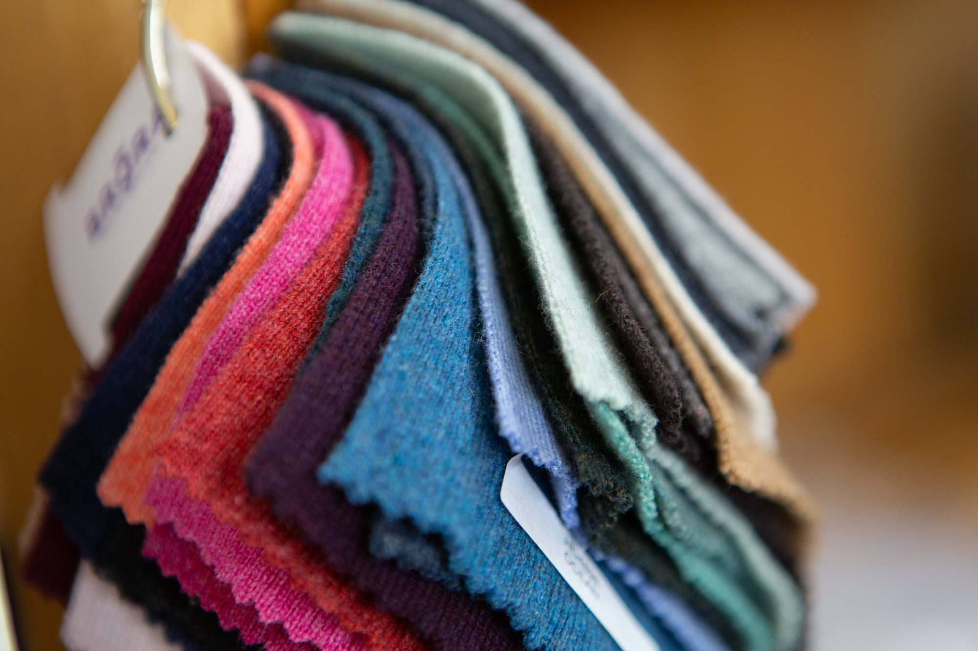 Cashmere samples