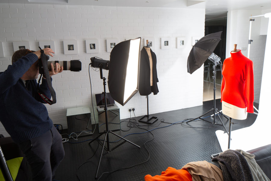 Photographing garments | By McAteer Photo