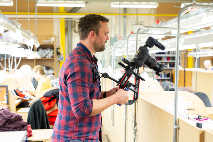 Filming at Johnstons of Elgin | By McAteer Photo