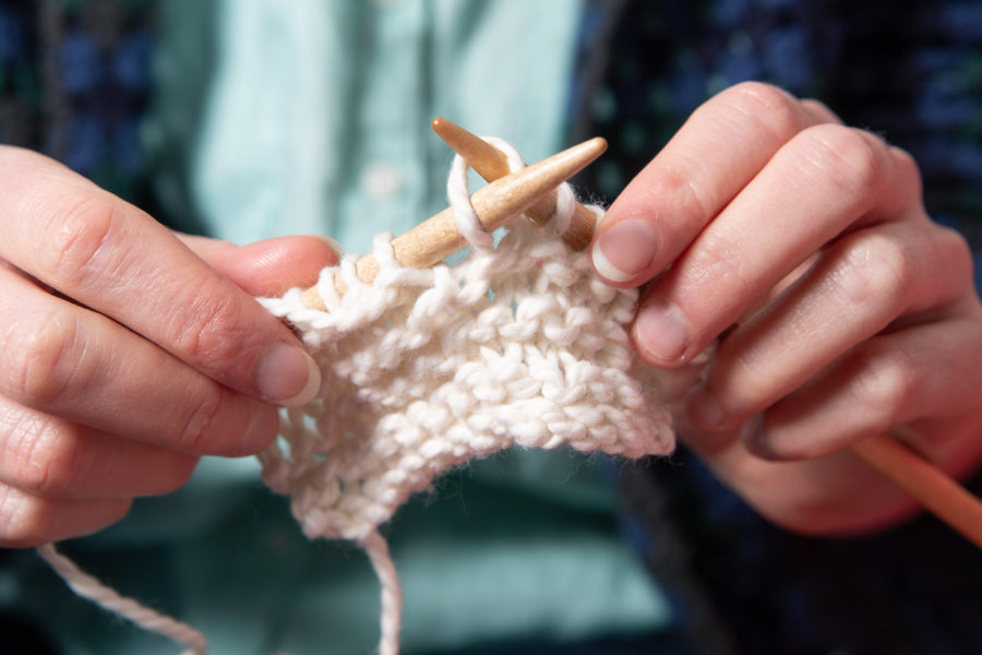 hand knitting | By McAteer Photo