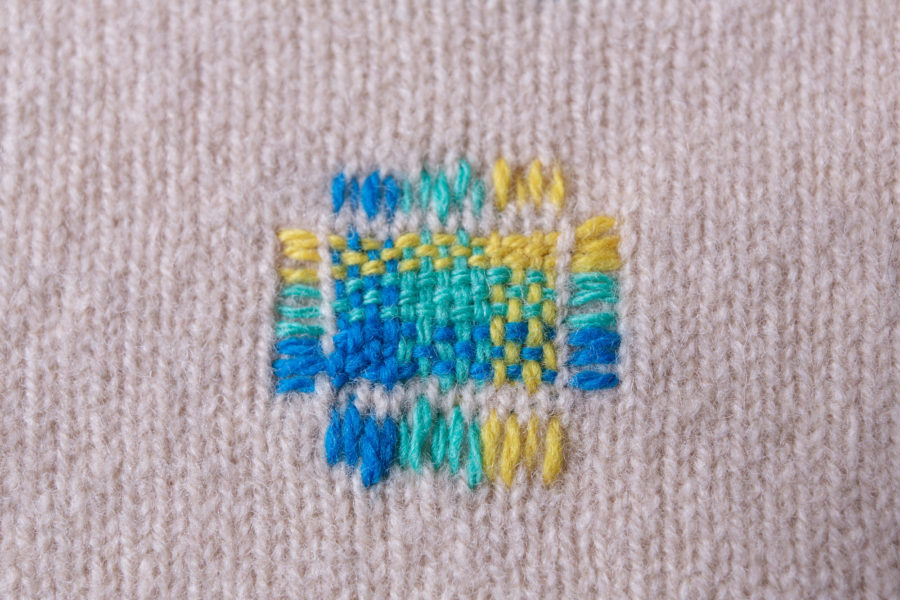 Swiss darning | By McAteer Photo