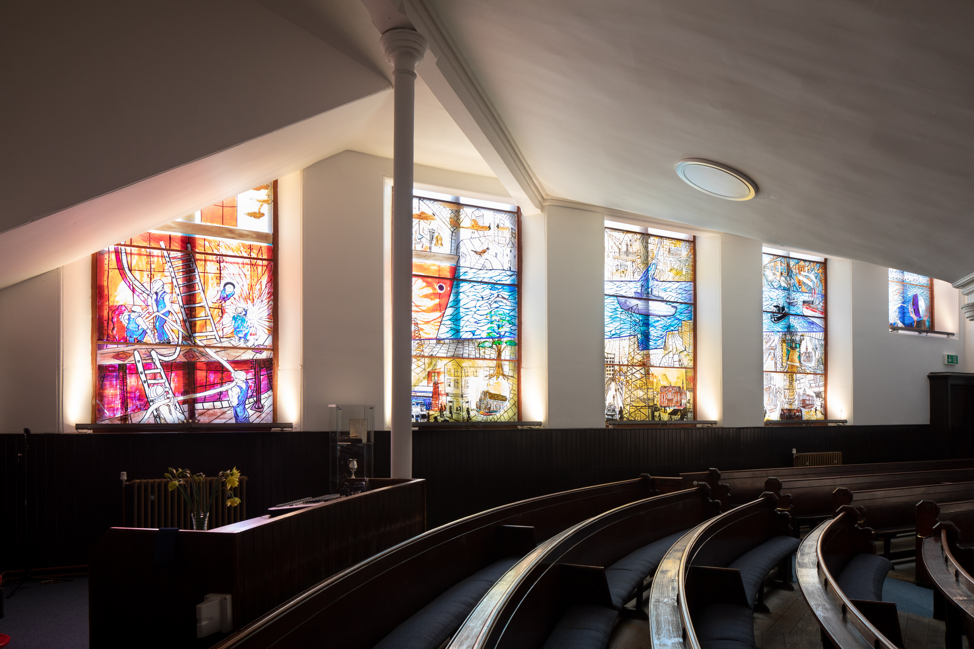 Stain glass art and craft | Church of Scotland | By McAteer Photo